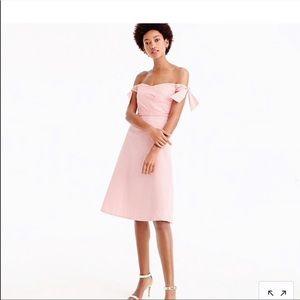 Jcrew pink seer sucker dress